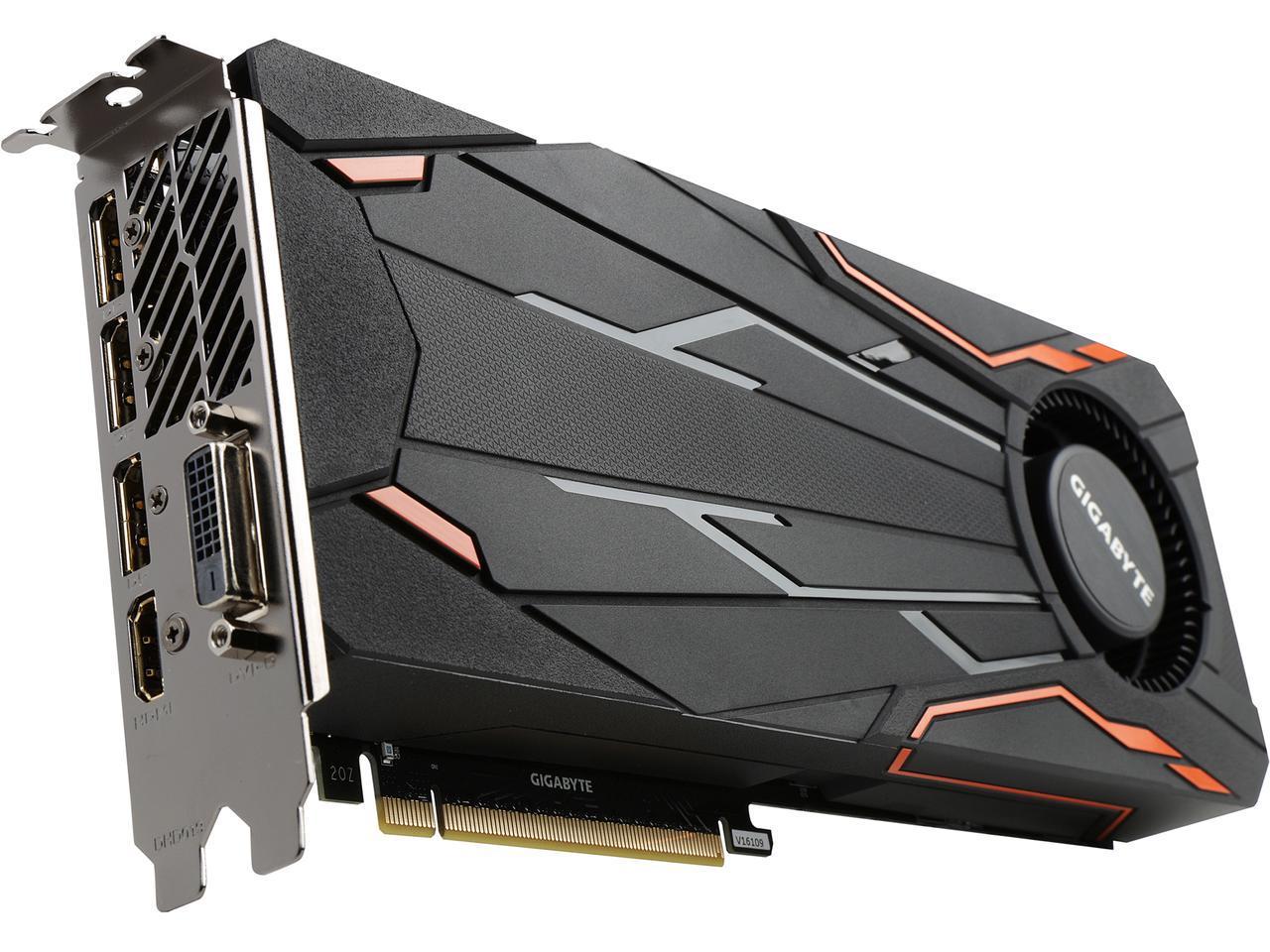 GIGABYTE GeForce GTX 1080 N1080TTOC-8GD 8GB $499.94
