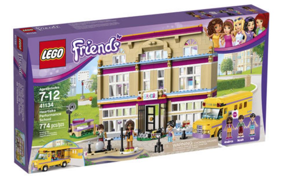 LEGO Friends: Heartlake Performance School + $5 TRU eGift Card ...