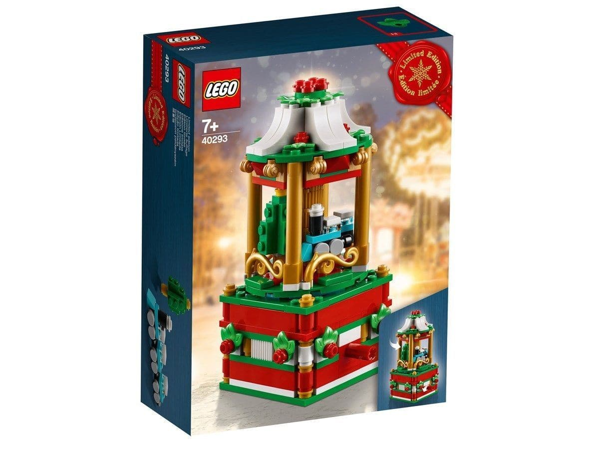 FREE LEGO 40293 Christmas Carousel 2018 Limited Edition with purchase of $99 @lego.com