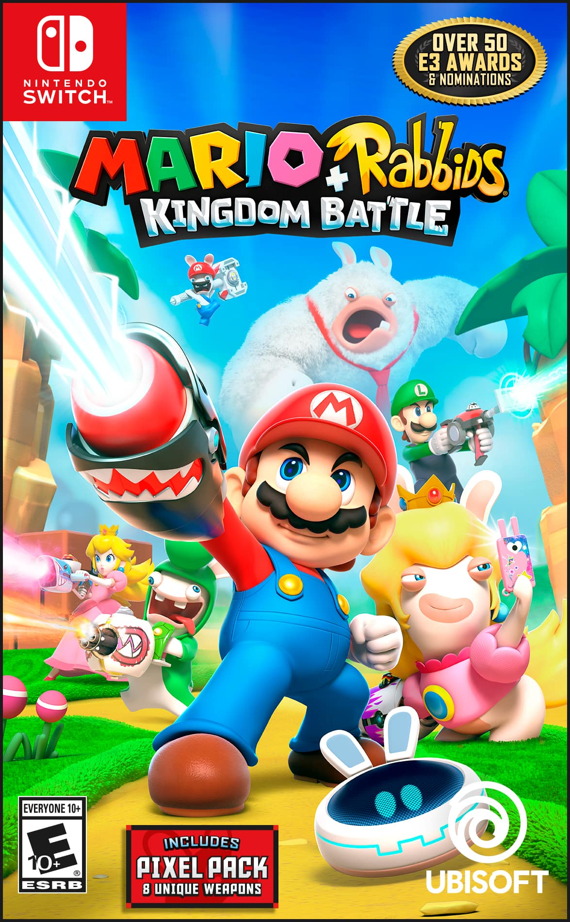 Nintendo Switch - Mario + Rabbids: Kingdom Battle - Video Game - Target $19.99