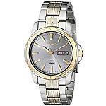 Seiko Men's SNE098 Two-Tone Stainless Steel Watch for $55.65 @amazon