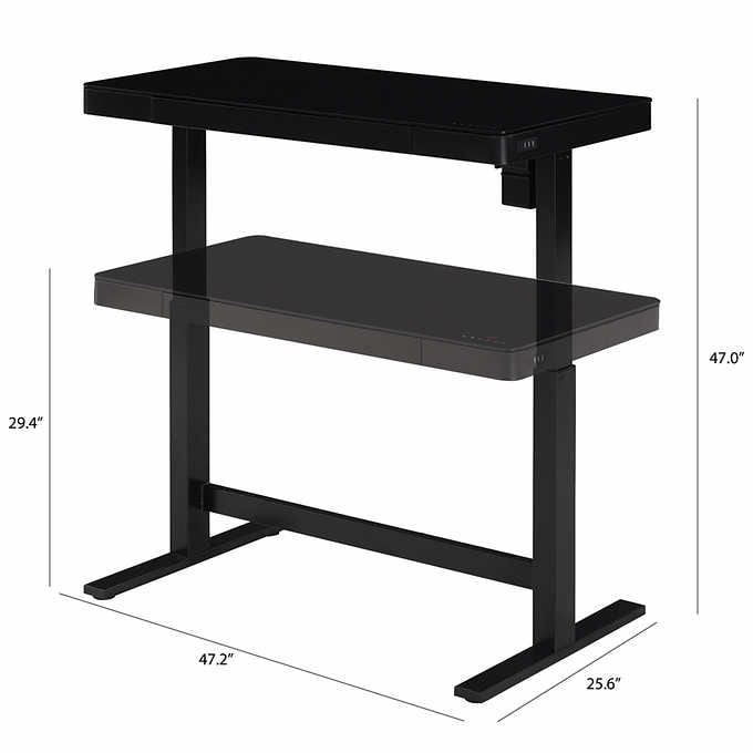 Costco warehouse tresanti adjustable desk $200 after $100 off