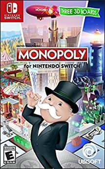 Nintendo Switch Monopoly Standard Edition $19.99