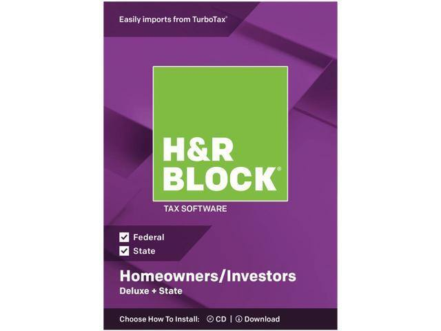 H&R Block Deluxe + State 2018 Tax Software and H&R Block Premier also available $16.06