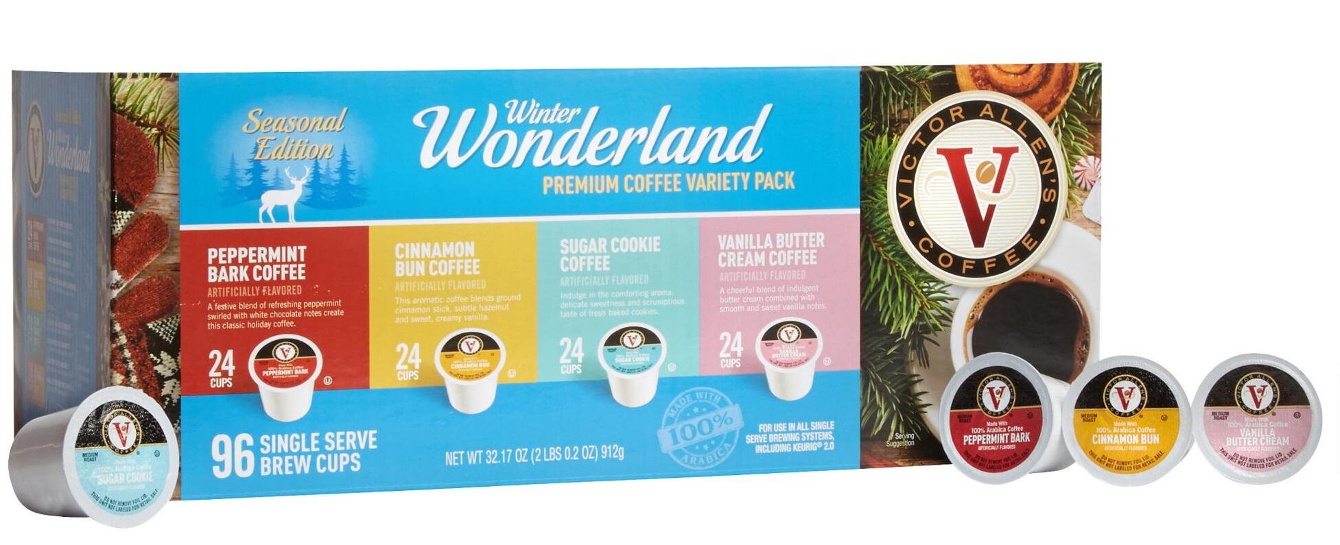 K-Cups: Victor Allen Winter Wonderland 288 Count For $65