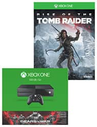 Xbox one Gears of War bundle, plus Rise of The Tomb Raider, plus another game up to $60, for $230