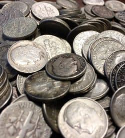Error on Silver US coins with an extra 2% off total (even extra products) + free shipping