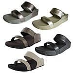 $44.99 shipped Fitflop Lulu Slide eBay Daily Deal 50% off