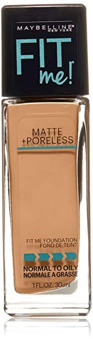 Maybelline New York Fit Me Matte Plus Poreless Foundation (Creamy Beige) $2.14 Free Ship +More