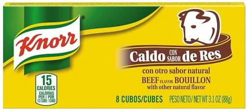 8-Count of 3.1-Oz Knorr Cube Bouillon (Beef) $0.65¢ Free Shipping Amazon S&S