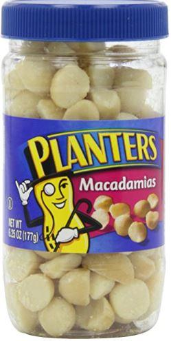 6.25oz Planters Salted Macadamia Nuts - $3.98 Free Shipping Amazon S&S