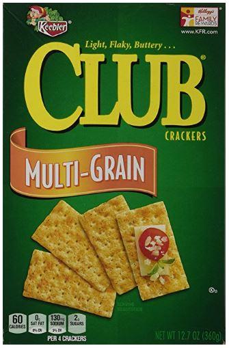 12.7oz Keebler Multi-Grain Club Crackers $1.90 Free Shipping Amazon S&S