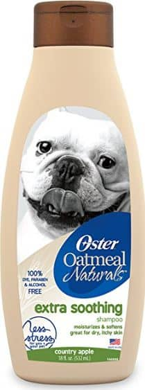 18oz Oster Oatmeal Naturals Extra Soothing Dog Shampoo (Country Apple) $1.20 Free Shipping Amazon S&S