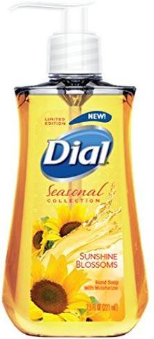 7.5oz Dial Liquid Hand Soap (Sunshine Blossoms) $0.93¢ Free Shipping Amazon S&S