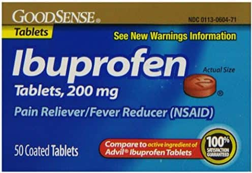 50-Ct 200mg GoodSense Ibuprofen Pain Reliever/Fever Reducer Tablets $1.31 Free Shipping Amazon S&S
