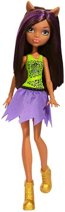 DEAD-Monster High Cheerleading Clawdeen Wolf Doll $2.50 Free Shipping With Amazon Prime