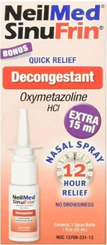 Neilmed Sinufrin Decongestant Spray $0.53¢ Free Shipping Amazon S&S