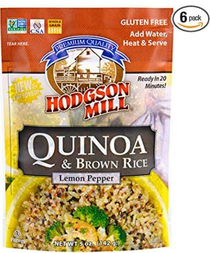 6-Pack of 5oz Hodgson Mill Quinoa and Brown Rice (Lemon Pepper) $2.59 Free Ship Amazon S&S