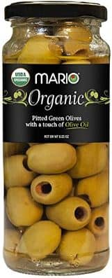 6.25oz Mario Camacho Greek Organic Pitted Green Olives (Touch of Olive Oil) $2.40 Free Ship Amazon S&S