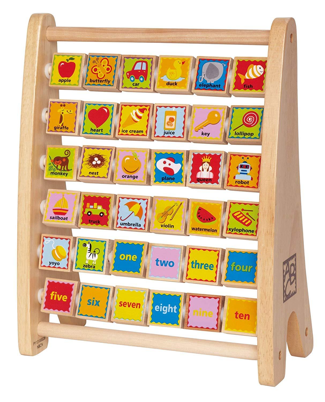 Hape Kids Alphabet Abacus $10