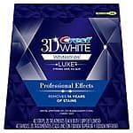 $31 Crest 3D White Luxe Whitestrips Professional Effects Teeth Whitening Kit 20 Treatments Amazon
