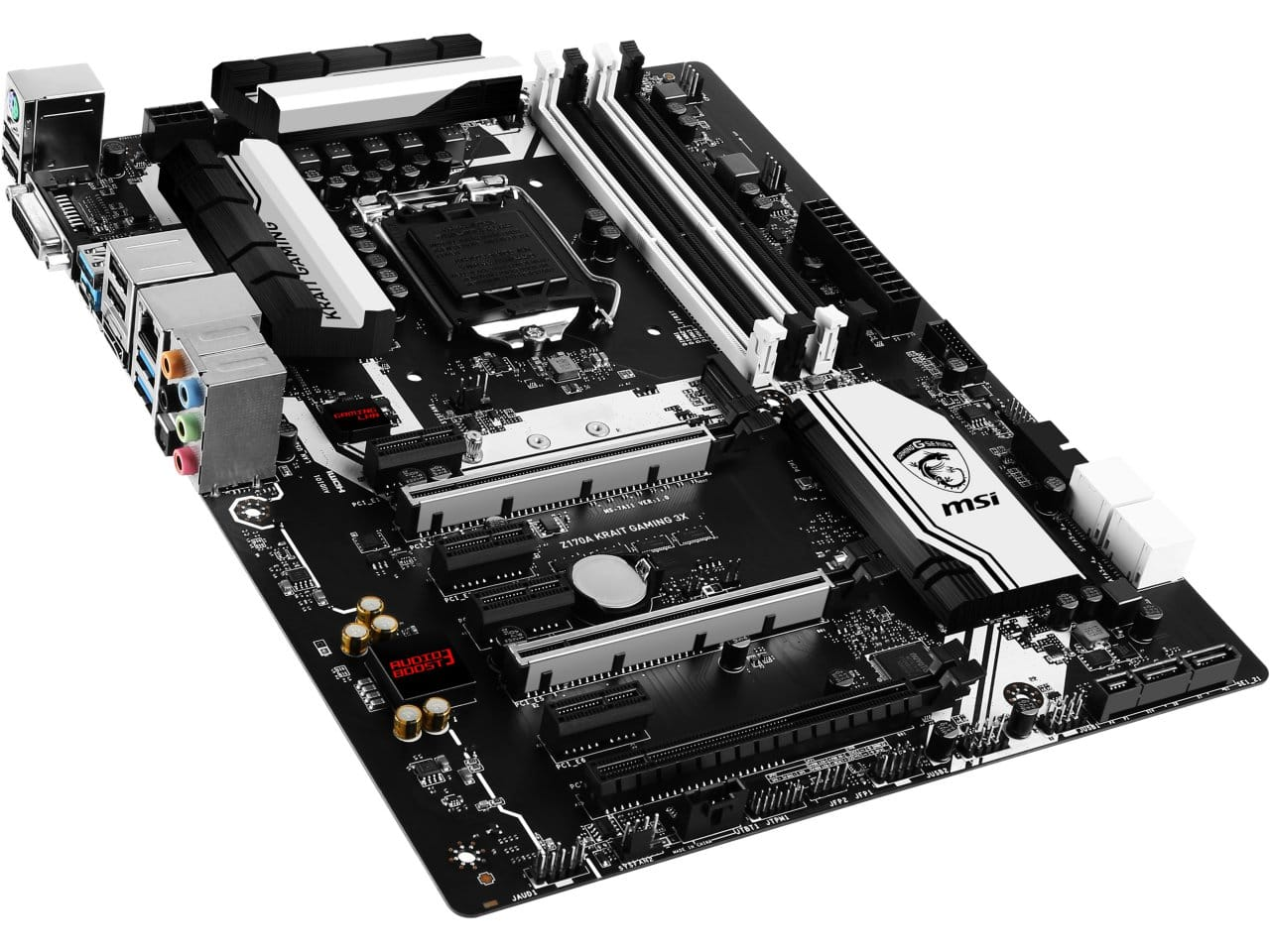 MSI Z170A KRAIT GAMING 3X ATX LGA1151 Motherboard  $120