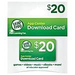 $20 Leapfrog Digital Download Card for $13 on Amazon