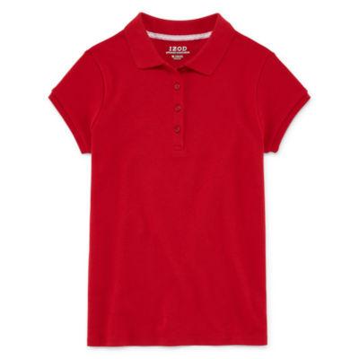Uniform polos for kids sz 4-20 $3.50 & up at JC Penney until 7/29