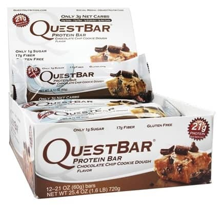 Quest Nutrition Protein Bars 24-Count for $38.73 with free shipping