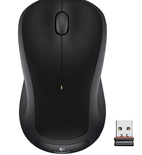 Logitech M330 Silent Plus Wireless Mouse (Black or Gray) $10 each + Free Store Pickup