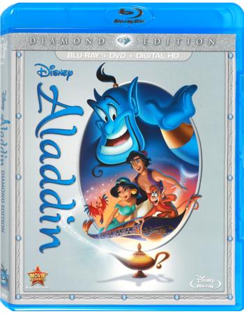 Disney Movie Rewards: Aladdin (Blu-ray + DVD + Digital Copy) 1250 Points