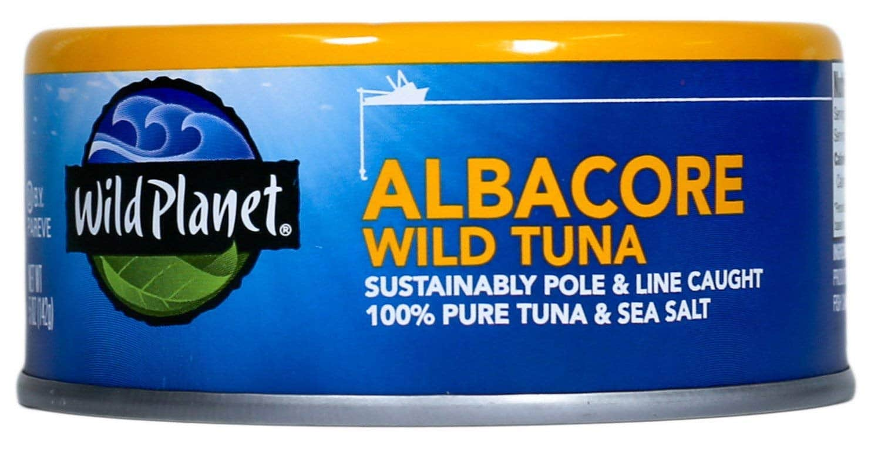 12-Count 5oz Wild Planet Albacore Wild Tuna $24 + Free Shipping