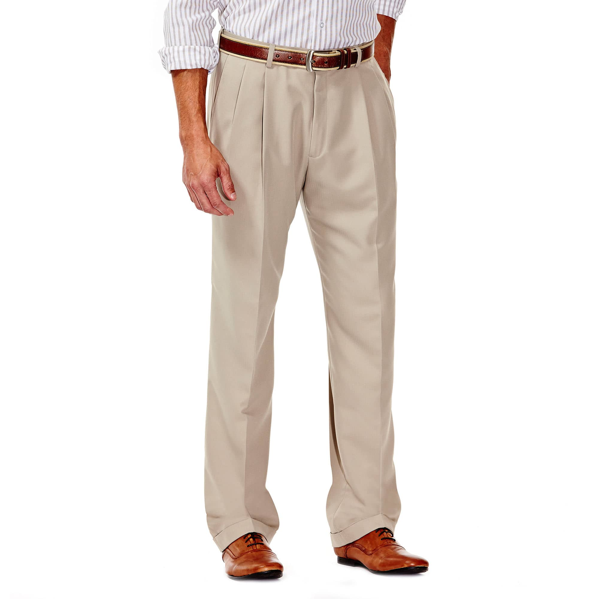 eba8402fae Haggar Men's Expandable Waistband Pants (various styles ...