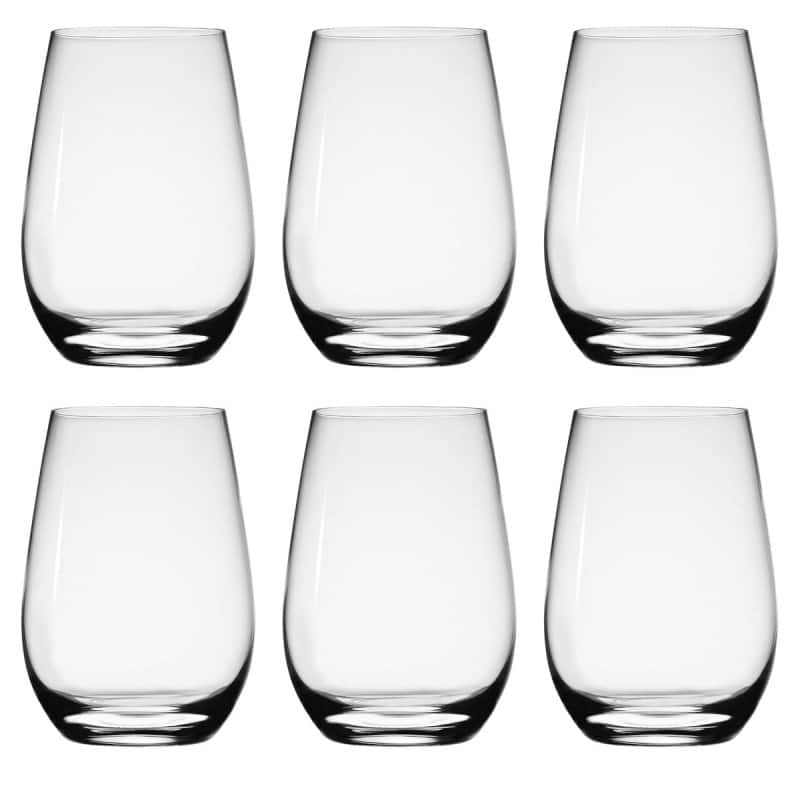 6-Pack Stolzle 15.75oz Crystal Stemless White Wine Glass Set $13.80 + Free Shipping