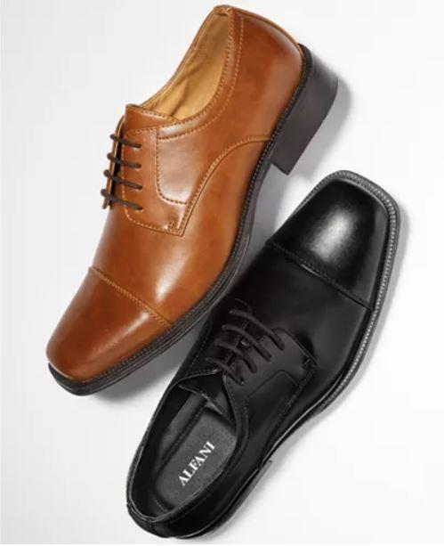 b306d87e762 Men's Footwear and Dress Apparel Up to 80% Off: Alfani Oxfords ...
