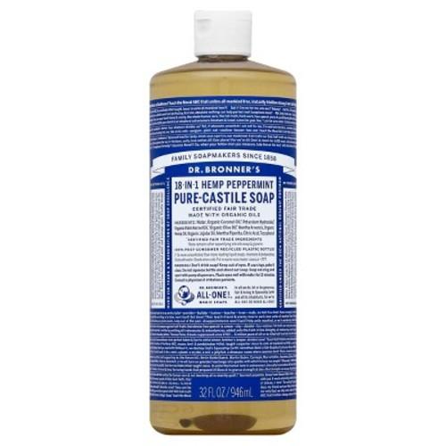 32oz Dr. Bronner's Hemp Peppermint Pure Castile Soap $8.54 + Free Shipping