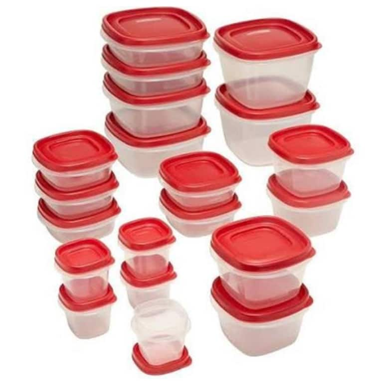 40-Piece Rubbermaid Easy Find Storage Container Set $5.88 + Free Store Pickup YMMV