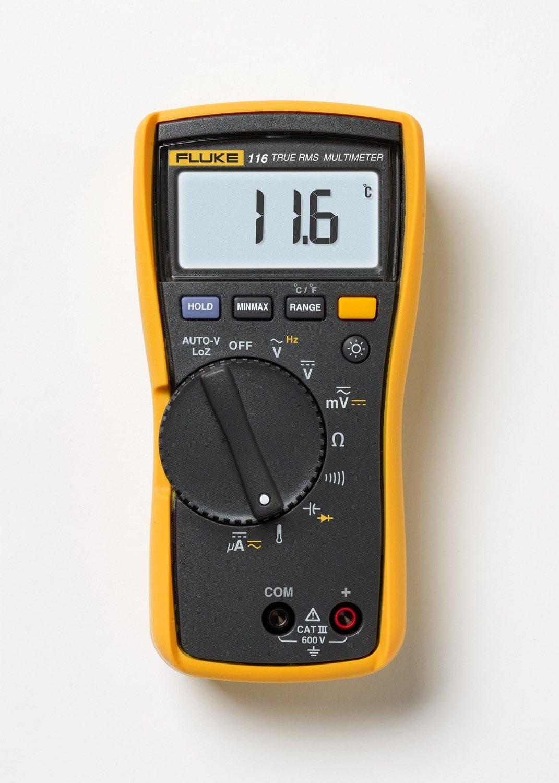 Amazon Fluke 116/323 KIT HVAC Multimeter and Clamp Meter Combo Kit $200.96