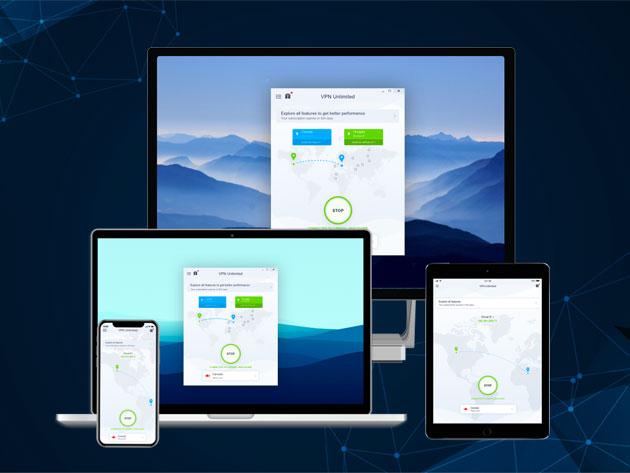 KeepSolid VPN Unlimited Lifetime Subscription $20 Bits Via Stacksocial