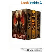 "Amazon Deal: Kindle ""Firemancer Collection"" 3-book set  All three books for 99 cents at amazon"