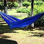 "Ohuhu® Portable Nylon Fabric Travel Camping Hammock, 115"" X 55"", $14.99 + FS w/ Prime or $35+"