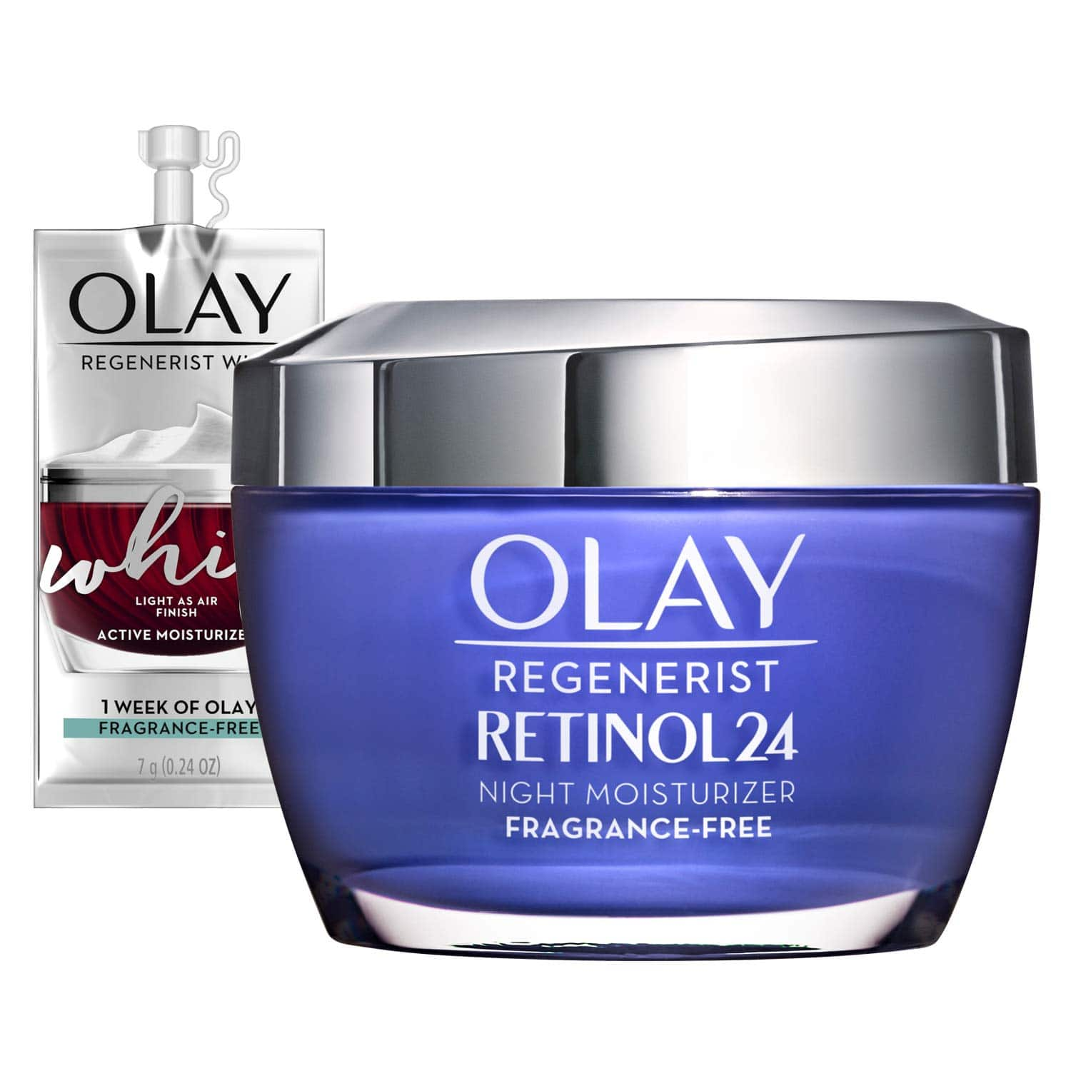 Amazon has Olay Regenerist Retinol 24 Night Moisturizer for $12 if you clip coupon and use S&S