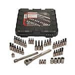 Craftsman  42 piece 1/4 and 3/8-inch Drive Bit and Torx Bit Socket Wrench Set $29.99