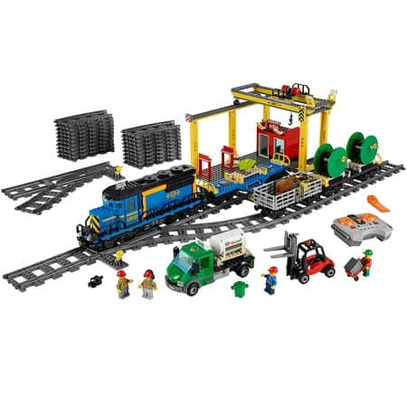 Lego 60052 Cargo train on sale again for $148.88 at Walmart or Amazon or Target now