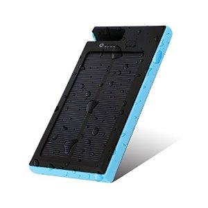 X-DRAGON Portable 9000mAh Solar Charger $11.89 AC @ Amazon