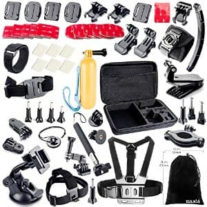 BAXIA TECHNOLOGY Accessories Kit for GoPro HERO 4 3+ 3 2 1 Cameras $16.99
