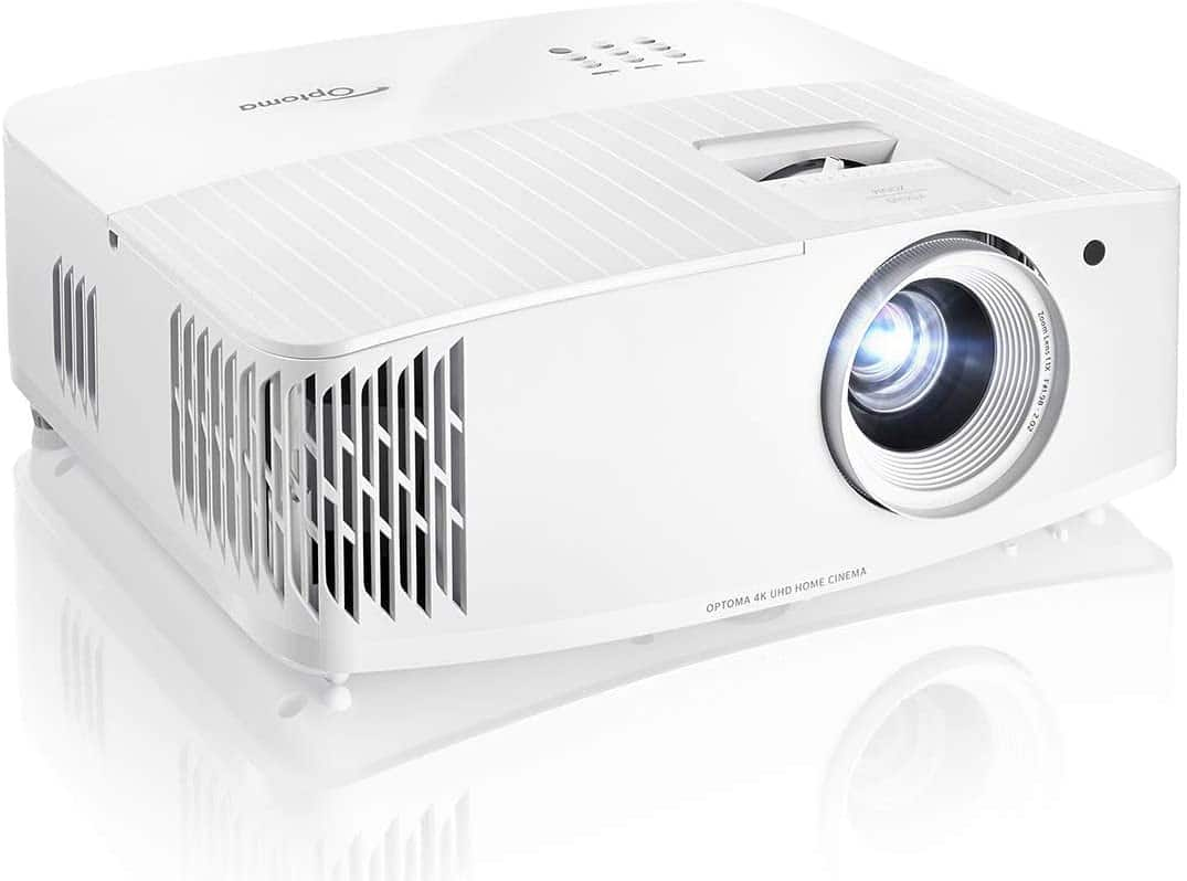 Optoma UHD30 True 4K UHD Gaming Projector | 16ms Response Time with Enhanced Gaming Mode | Lowest Input Lag on 4K Projector | 240Hz Refresh Rate | HDR10 & HLG: Electron $1100