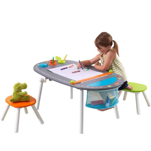 Google Express -KidKraft Chalkboard Art Table with Stools - $75.20 + Taxes and FS w/20% off your first order