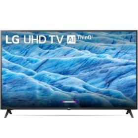 "LG 50"" Class 7300 Series 4K Ultra HD Smart HDR TV w/AI ThinQ® - 50UM7300AUE $289.99"