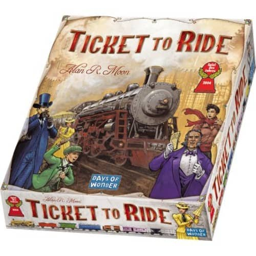 Board game sale: Ticket to Ride, Dixit, Ultimate Werewolf, Catan, etc.